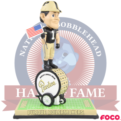 Purdue Pete World's Largest Drum Patriotic Bobblehead
