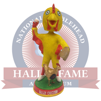 Rally Chicken Bobblehead