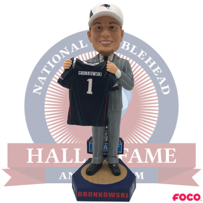 Rob Gronkowski New England Patriots Draft Day Bobblehead