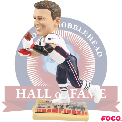 Rob Gronkowski New England Patriots Iconic Moment Bobblehead