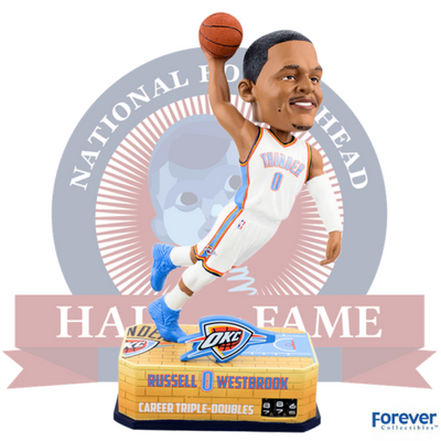 Russell Westbrook Triple-Double Counter Bobblehead - National Bobblehead HOF Store