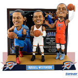 Russell Westbrook Triple Threat Bobblehead - National Bobblehead HOF Store