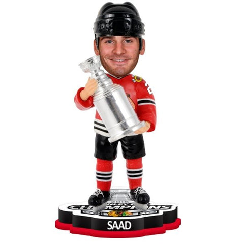 Chicago Blackhawks 2015 Stanley Cup Bobbleheads
