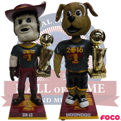 Cleveland Cavaliers 2016 NBA Champions Mascot Bobbleheads - National Bobblehead HOF Store
