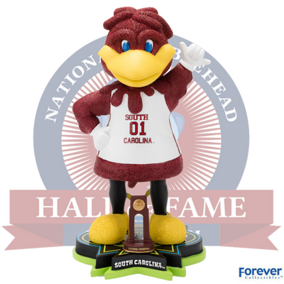 South Carolina Gamecocks NCAA Women's Basketball National Champions Bobblehead - National Bobblehead HOF Store