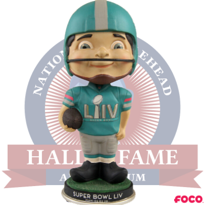2020 NFL Super Bowl LIV 54 Classic Bobble Boy Bobblehead