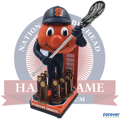 Syracuse Orange NCAA Men's Lacrosse National Champions Bobblehead - National Bobblehead HOF Store