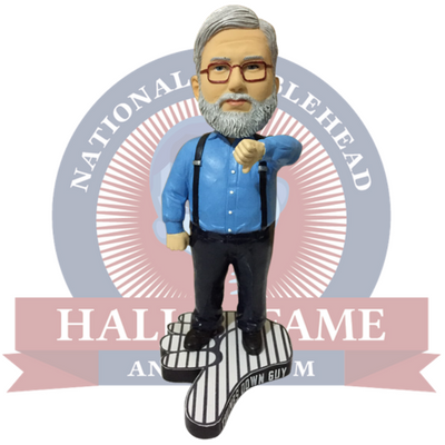 Thumbs Down Guy - Gary Dunaier Bobblehead (Presale) - National Bobblehead HOF Store