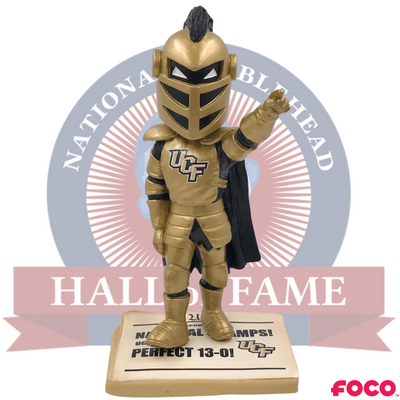 Central Florida UCF Knights 2017 National Champions Bobblehead