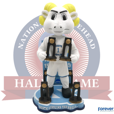 North Carolina Tar Heels NCAA College Basketball National Champions Bobblehead - National Bobblehead HOF Store