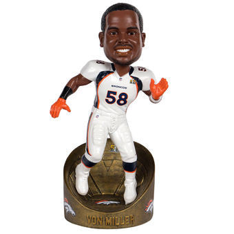 Denver Broncos Super Bowl 50 Bobbleheads - National Bobblehead HOF Store