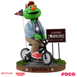 Boston Red Sox - Wally the Green Monster - Mascot on Bike