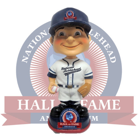 White Jersey Bobblehead Add-On - National Bobblehead HOF Store
