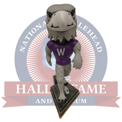 Whitewater Warhawks Willie Mascot Bobblehead