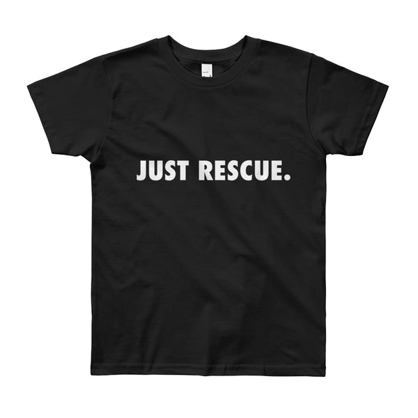 Youth Short Sleeve T-Shirt - Just Rescue.