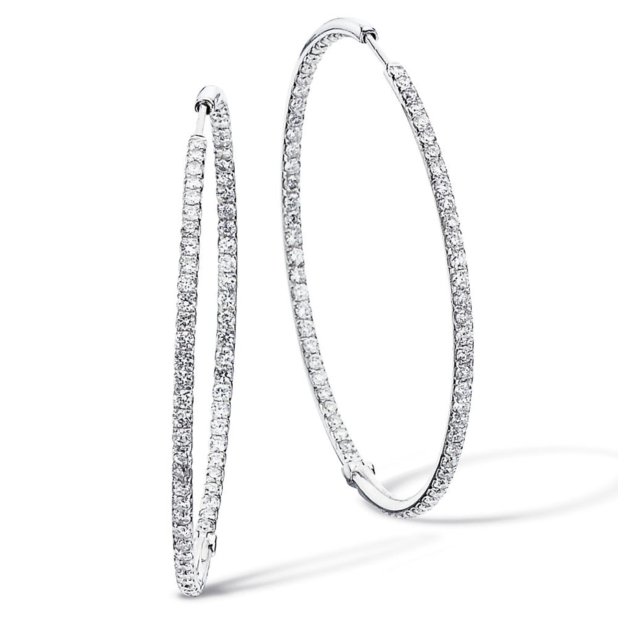 Le Rêve Pavé Hoop Earrings