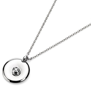 Le Rêve Bezel Moon Necklace