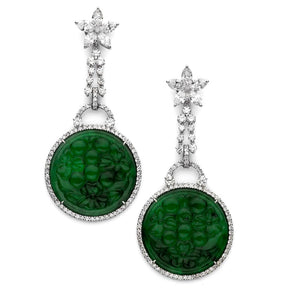 Indochine Disc Earrings