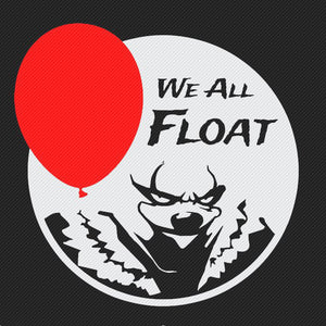 Pennywise the Clown Vinyl Decal from Stick'emAll