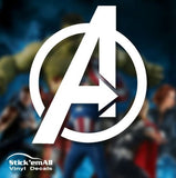 Avengers Marvel-Inspired Window Sticker