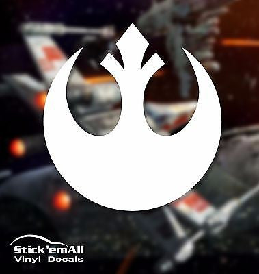 Rebel Alliance Star Wars Inspired Window Sticker Decal