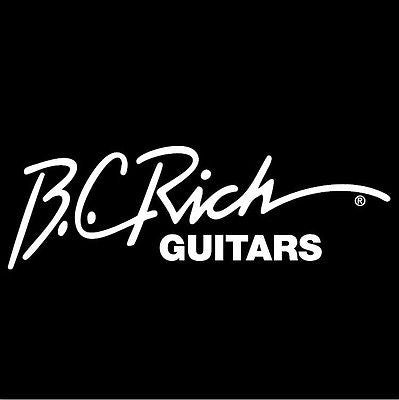 BC Rich Guitars Vinyl Window Sticker