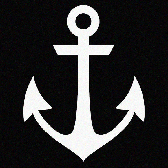 Nautical Anchor Window Decal