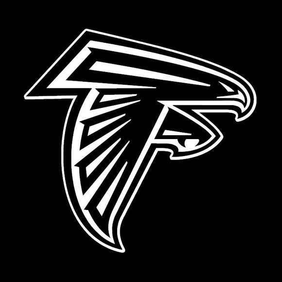 Atlanta Falcons Vinyl Window Decal