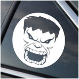 Hulk Marvel-Inspired Window Sticker