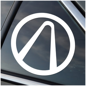 Borderlands Vault Window Decal