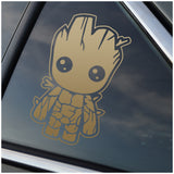 Baby Groot Guardians of the Galaxy Window Decal Sticker