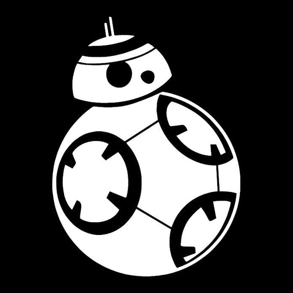 BB-8 Star Wars Inspired Window Sticker Decal