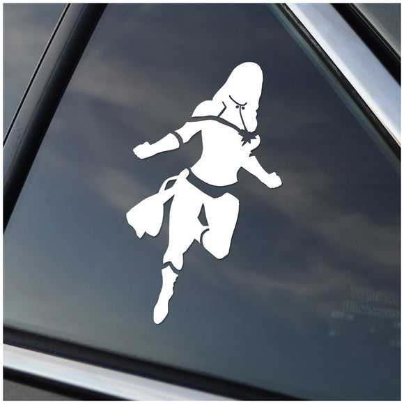 Captain Marvel  Window Sticker