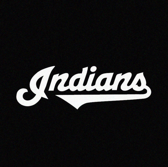 Cleveland Indians Vinyl Window Decal