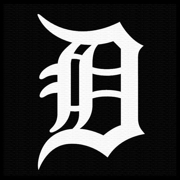Detroit Tigers Vinyl Decal