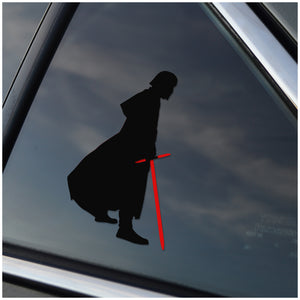 Kylo Ren Car Decal