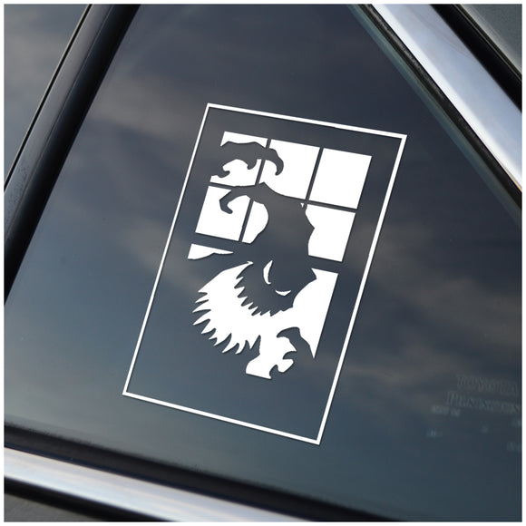 Oogie Boogie Nightmare Before Christmas Car Decal