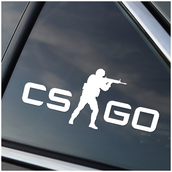 CS Go Counter Strike Go Window Decal