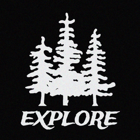 Explore Outdoor Wilderness Hiking Decal Window Sticker