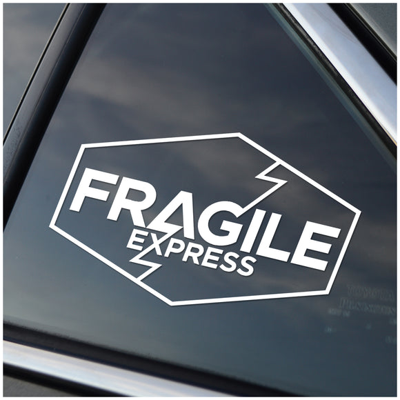 Fragile Express Death Stranding Car Decal