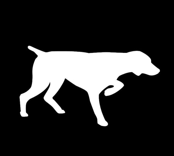 German Shorthaired Pointer GSP Vinyl Window Decal