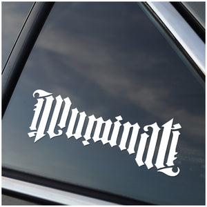 Illuminati Vinyl Decal