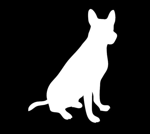 Mutt Window Decal