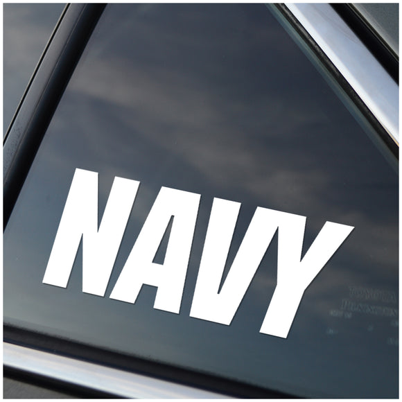 US Navy Window Decal