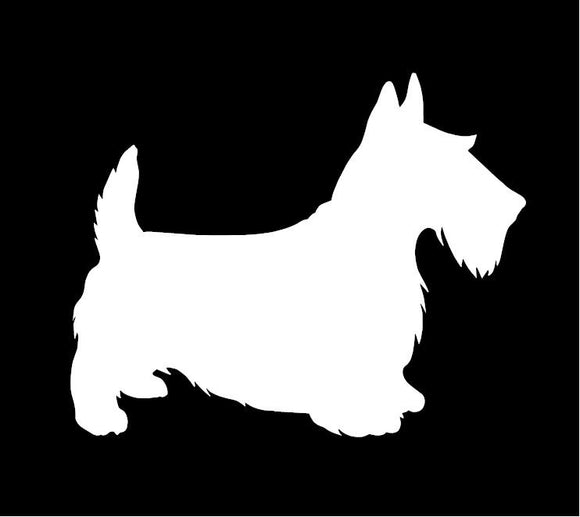 Scottish Terrier Window Decal