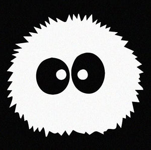 Soot Sprite Window Sticker