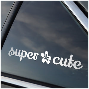 Super Cute Car Decal