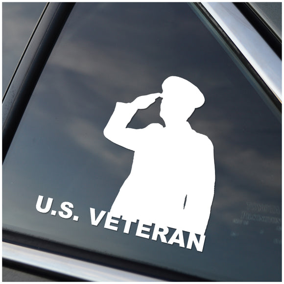 U.S. Veteran Vinyl Decal