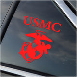 US Marines White or Red Window Decal