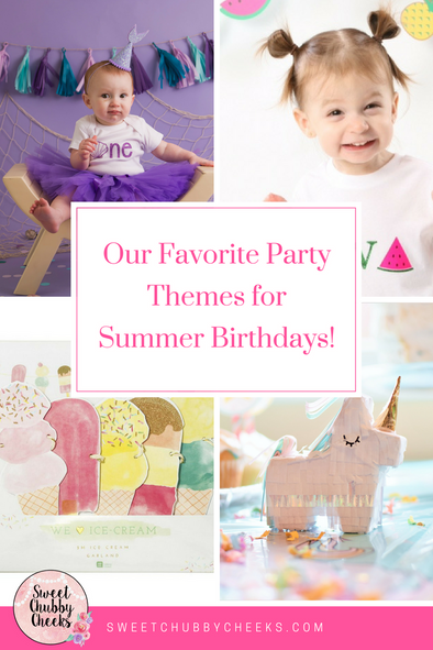Our Favorite Party Themes for Summer Birthdays
